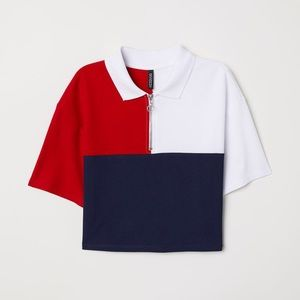 H&M | Cropped T-Shirt